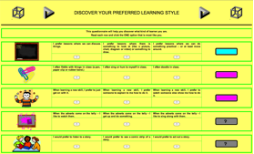 brainboxx learning styles quiz
