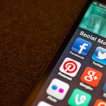 Image of social media apps by Jason A. Howie